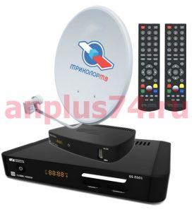 Триколор ТВ самый известный среди спутниковых операторов. Предоставляет более 200 каналов высокой четкости, за 1200 рублей в год.